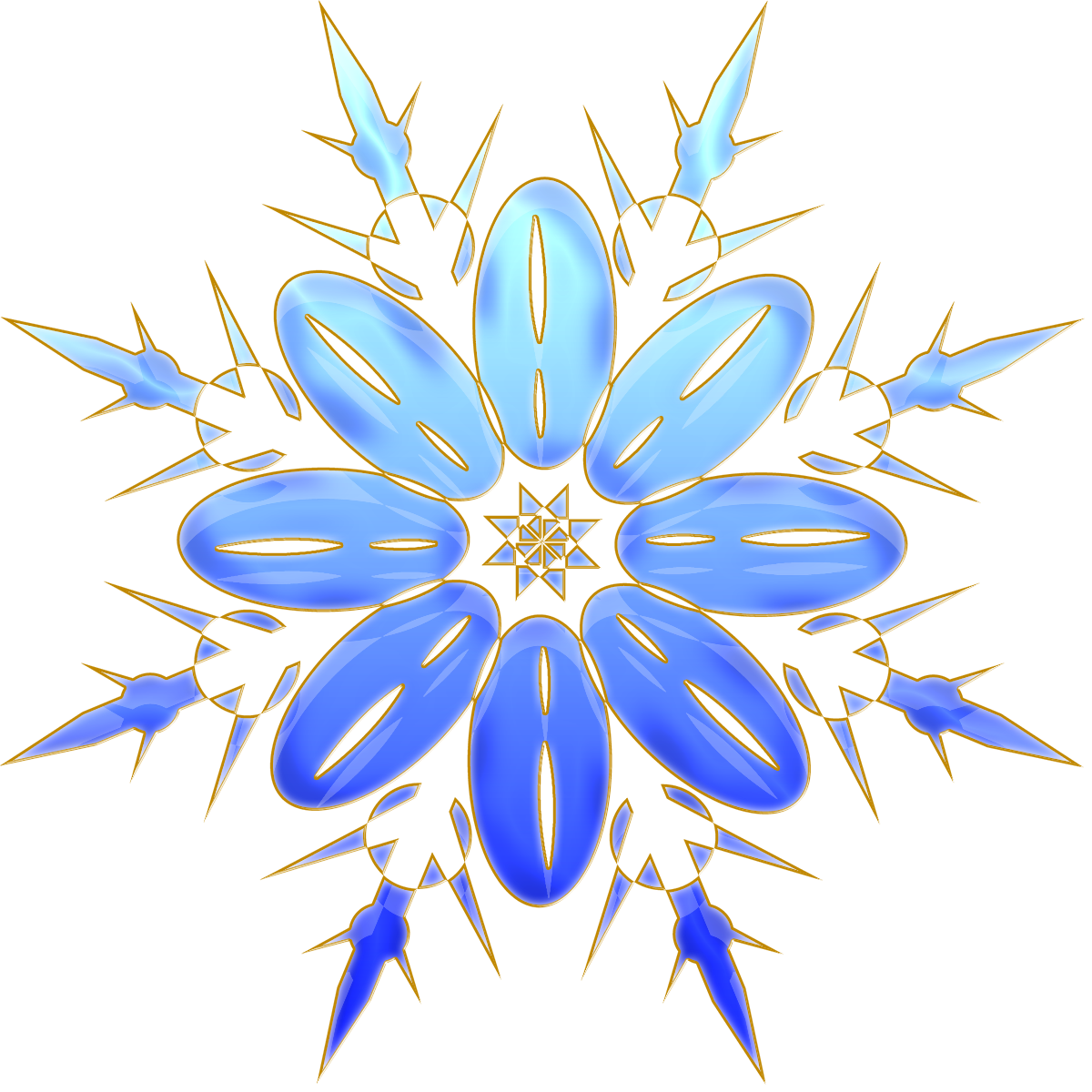 Christmas clipart snowflakes image download Christmas ClipArt #18 (17).png | Christmas clipart, Snowman and Album image download