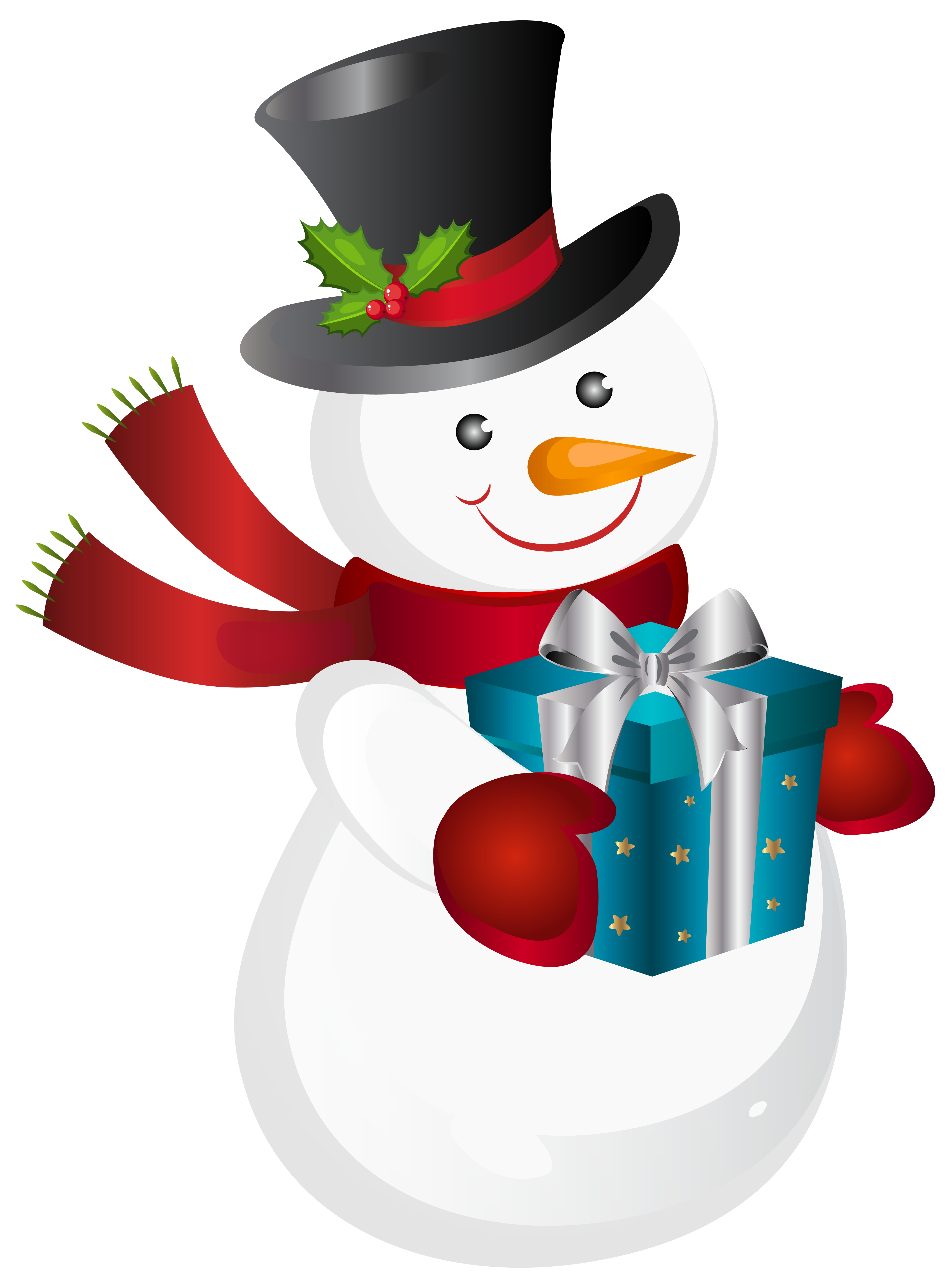 Snowman with heart clipart picture library download Christmas Snowman Transparent PNG Clip Art Image | Gallery ... picture library download