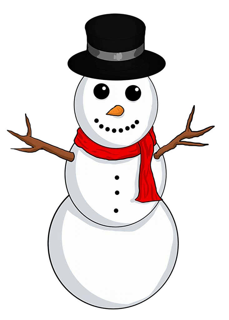 Christmas snowmen clipart clipart library stock Christmas Snowman Clipart at GetDrawings.com | Free for personal use ... clipart library stock