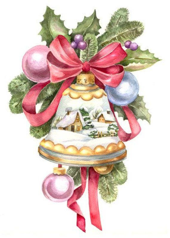 Christmas clipart stich picture freeuse Christmas Bell Cross Stitch Pattern PDF   Products   Christmas ... picture freeuse