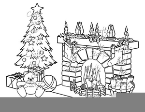 Christmas clipart templates free black and white download Victorian Christmas Clipart Template | Free Images at Clker.com ... black and white download