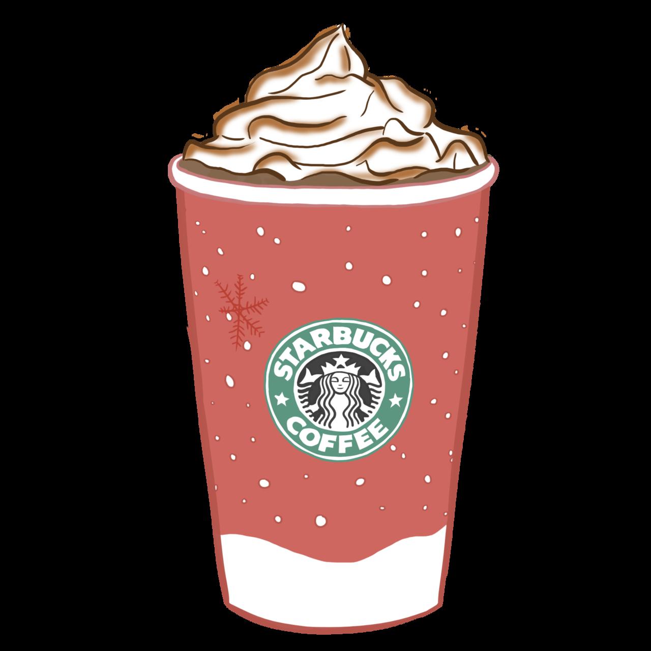 Christmas clipart tumblr jpg stock Images For > Starbucks Transparent Tumblr Pink | Journaling Cards ... jpg stock