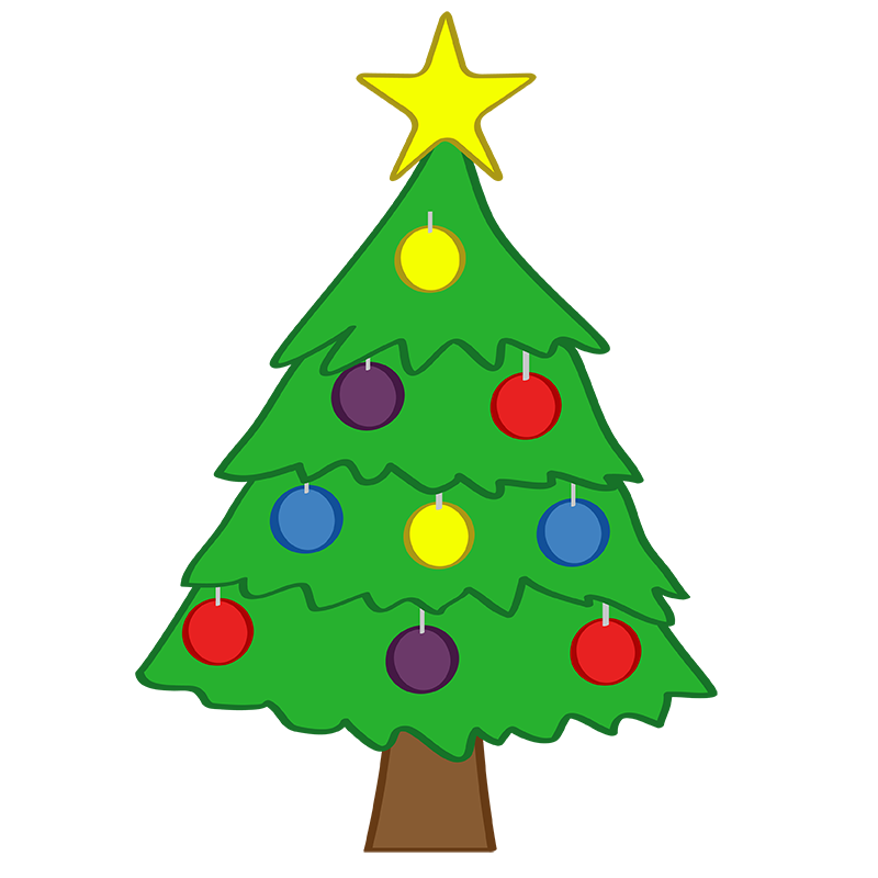 Christmas clipart vector png free Christmas Tree Free Clipart | Free download best Christmas Tree Free ... png free