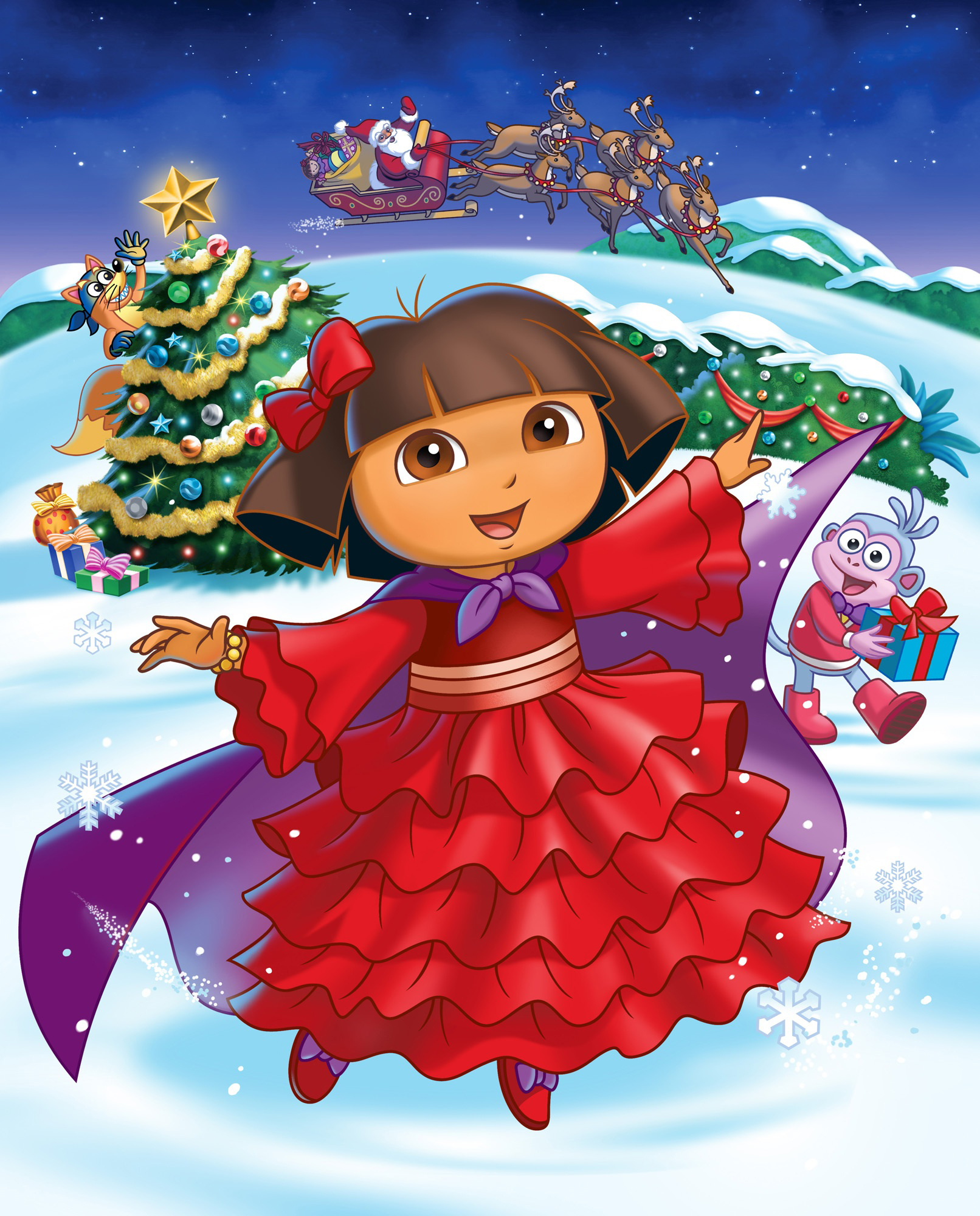 Christmas clipart videos clip library download Dora christmas clipart - Clip Art Library clip library download