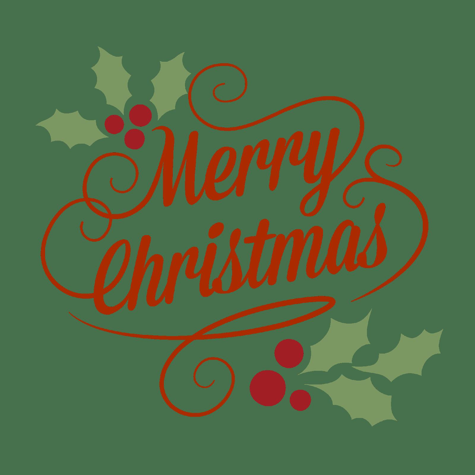 Merry christmas clipart transparent clip transparent Merry Christmas Classical Vintage Sign transparent PNG - StickPNG clip transparent