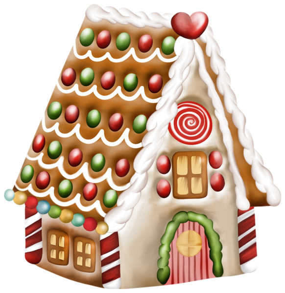 Cute house clipart free svg black and white Gingerbread House Clipart Free at GetDrawings.com | Free for ... svg black and white