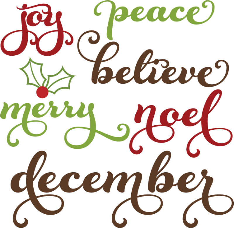 Christmas clipart words image black and white Free Word Christmas Cliparts, Download Free Clip Art, Free Clip Art ... image black and white