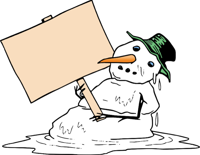Snowflake singing clipart banner Cute Snowman Graphics and Animations banner