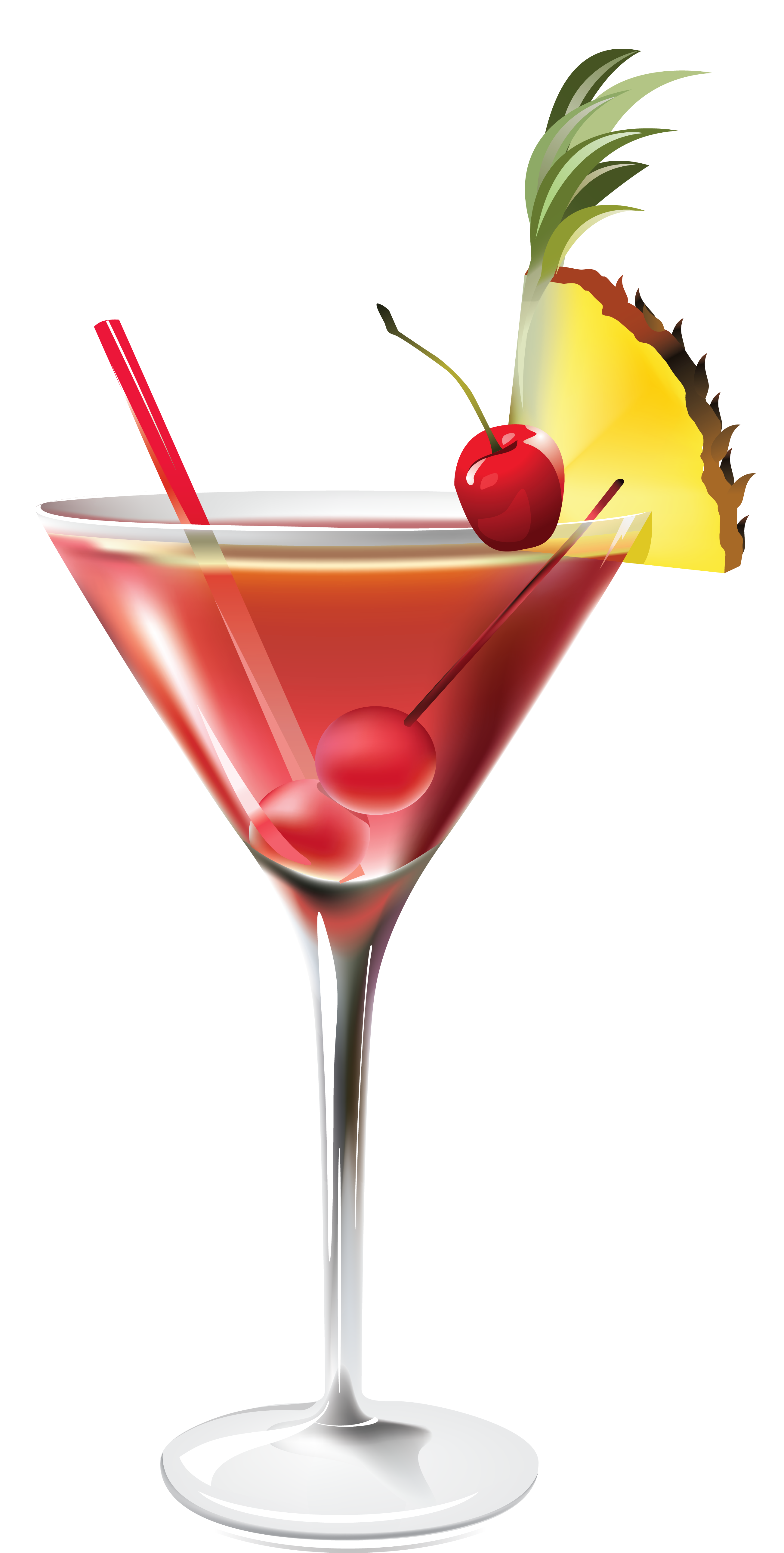 Christmas cocktails clipart vector freeuse Cocktail with Pineapple PNG Clipart Picture | Gallery Yopriceville ... vector freeuse