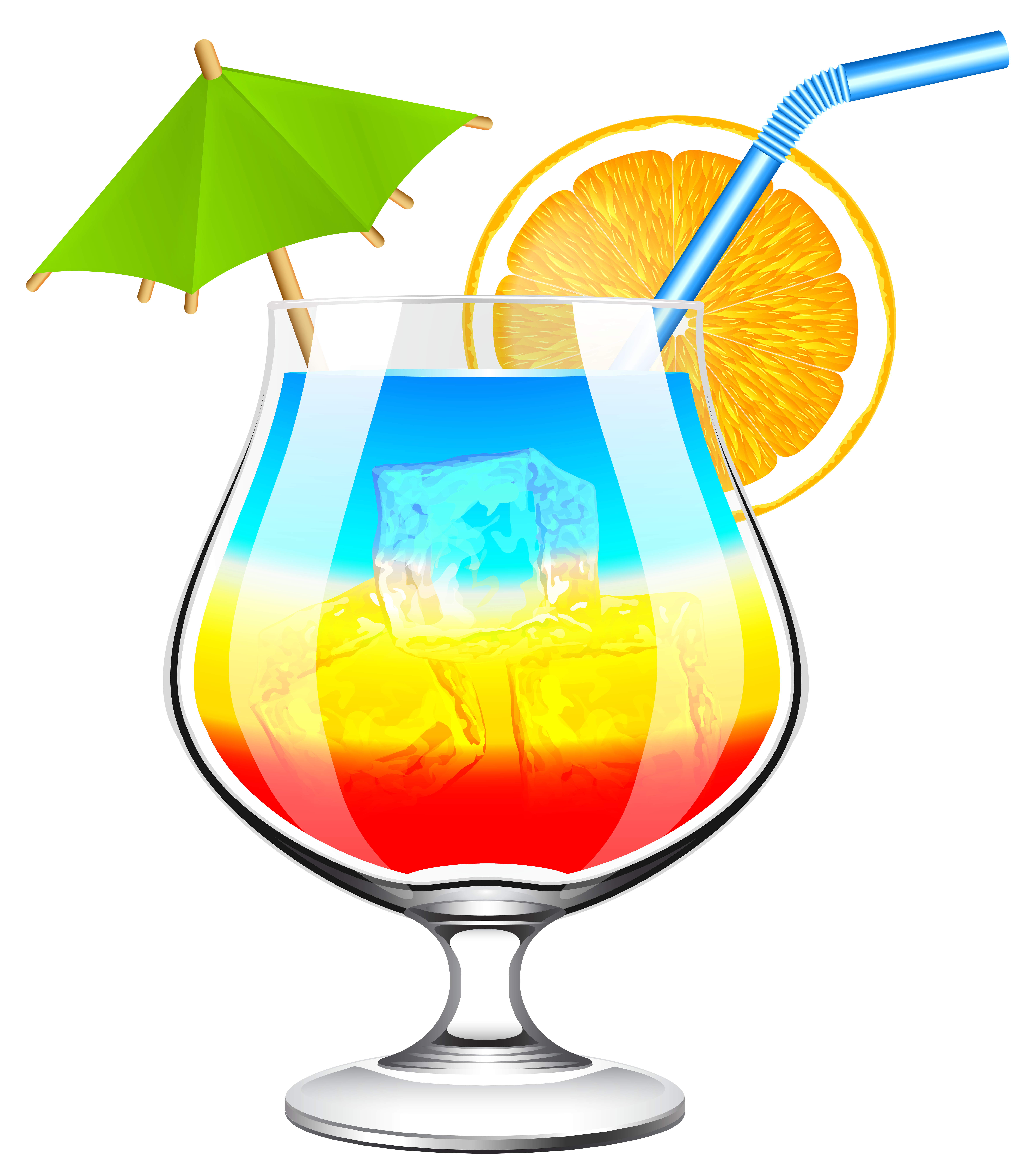 Christmas cocktails clipart image black and white download Summer Cocktail Transparent PNG Clip Art Image | Gallery ... image black and white download