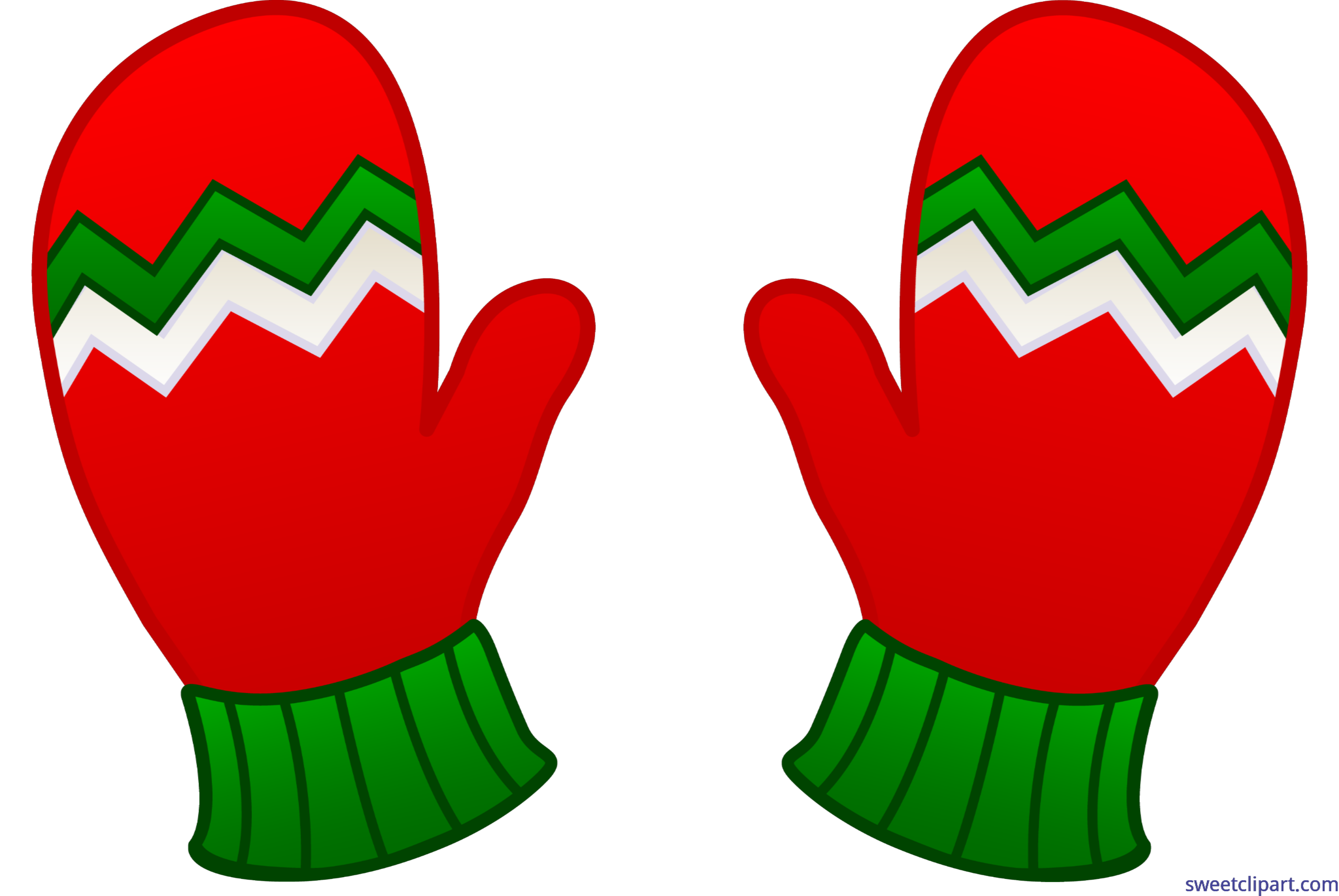 Christmas mittens clipart picture library download Christmas Mittens Clip Art - Sweet Clip Art picture library download
