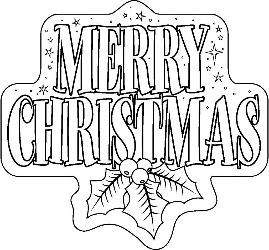 Christmas color page clipart clip transparent Free Printable Merry Christmas Coloring Pages | Coloring pages ... clip transparent