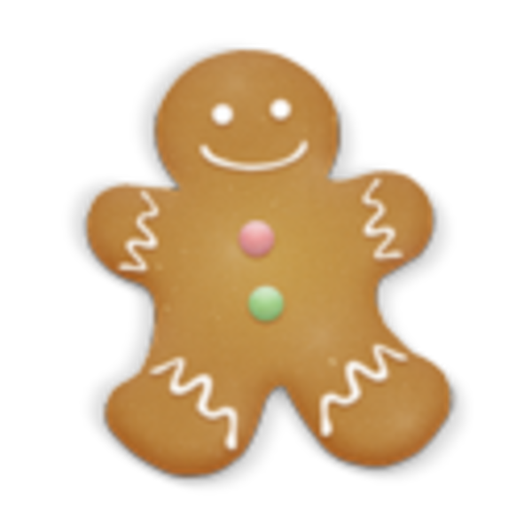 Christmas cookies clipart free clip art free library Christmas Cookie Man Icon | Free Images at Clker.com - vector clip ... clip art free library