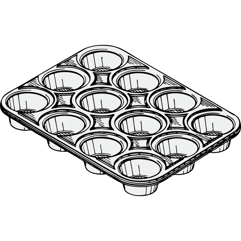 Christmas cookie clipart black and white clip art transparent library Christmas Cookie Tin Clipart clip art transparent library