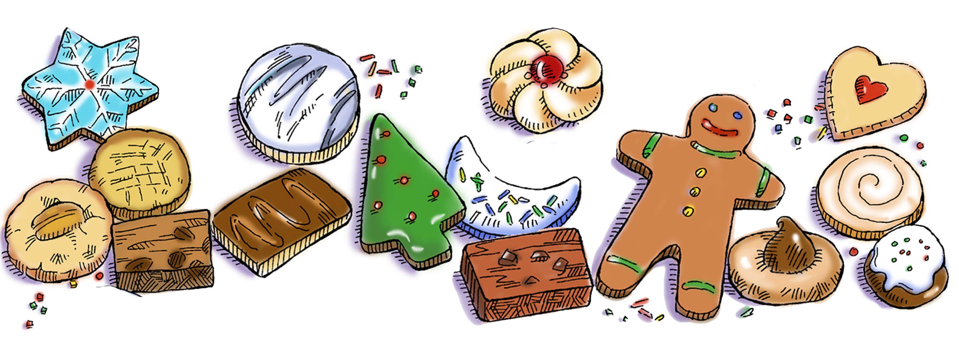 Christmas cookie exchange clipart graphic free Calvary Christmas Cookie Exchange graphic free