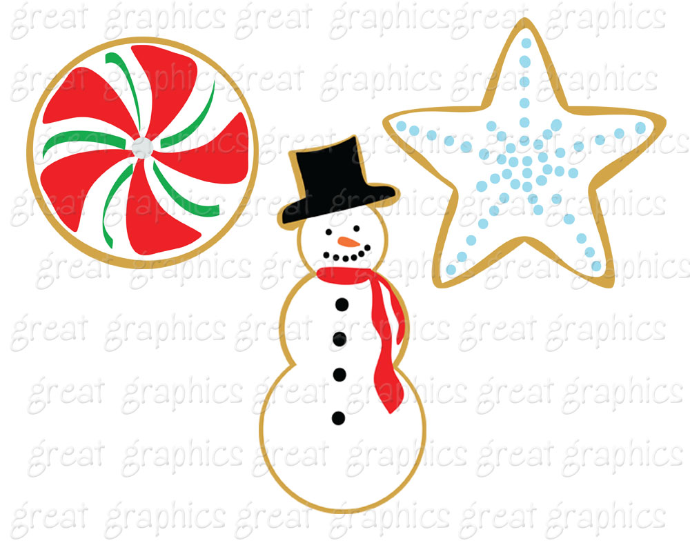 Christmas cookie exchange free clipart clip art black and white stock 39+ Christmas Cookie Clip Art   ClipartLook clip art black and white stock