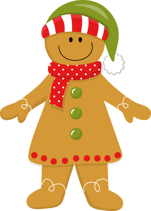 Gingerbread dog clipart vector royalty free library CHRISTMAS GINGERBREAD GIRL * | CLIP ART - GINGERBREAD - CLIPART ... vector royalty free library