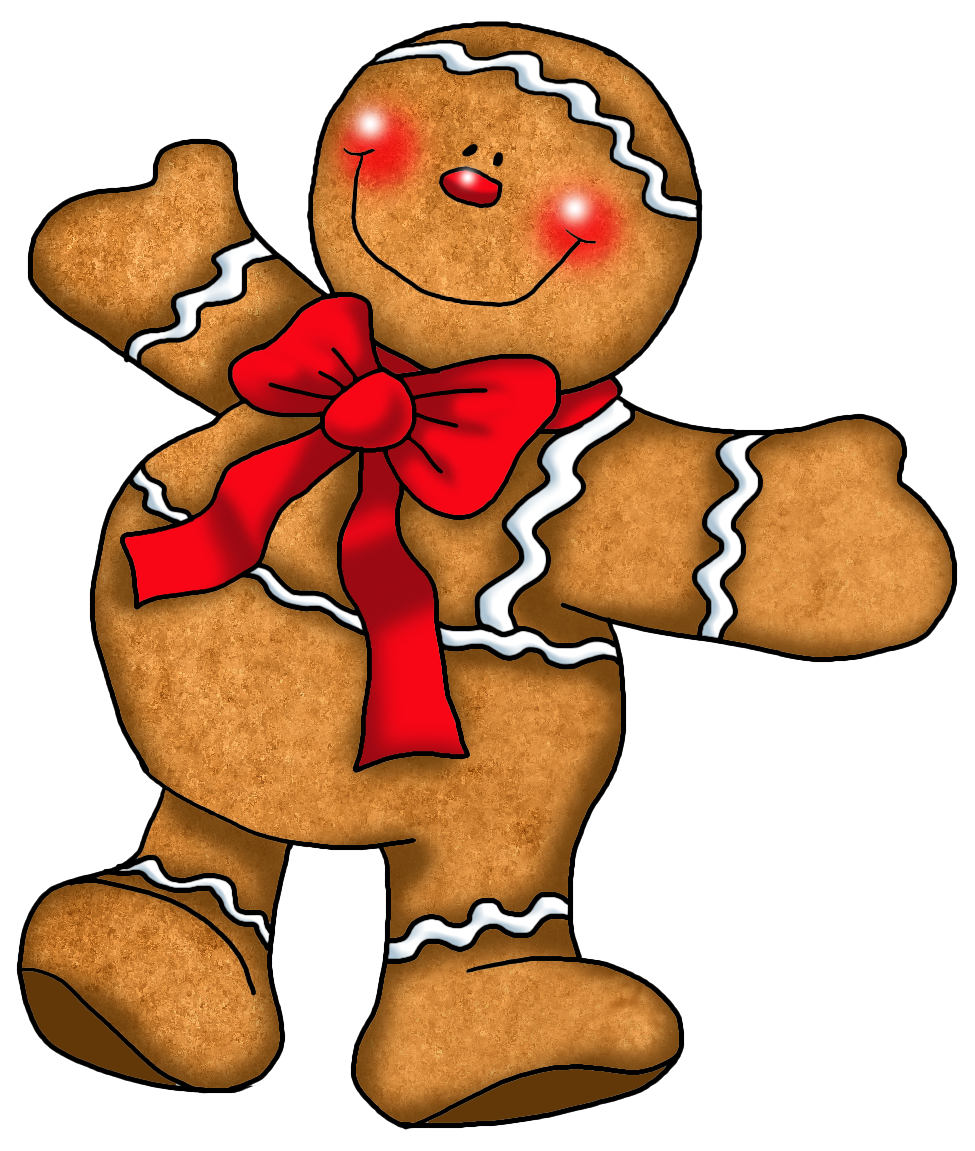 Christmas cookies clipart free vector library Gingerbread Cookie Clipart at GetDrawings.com | Free for personal ... vector library