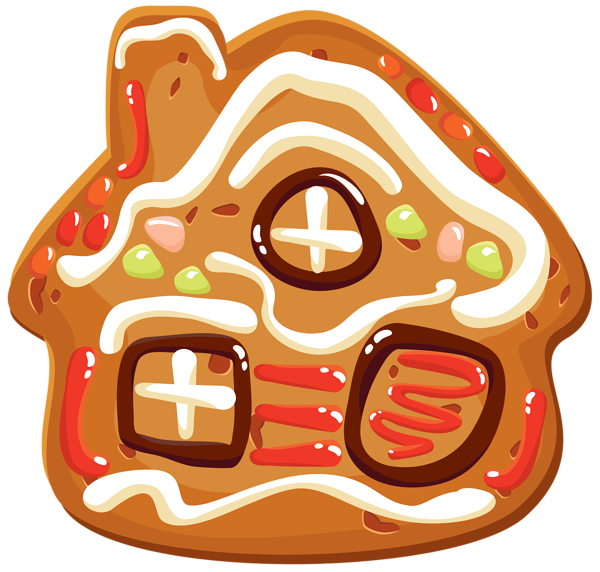Christmas house clipart banner free download Christmas Cookie House PNG Clipart Image | Gallery Yopriceville ... banner free download