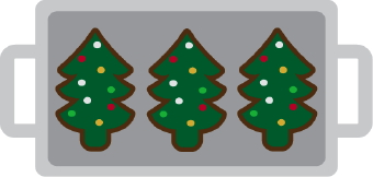 Christmas cookies tray clipart graphic library Christmas Cookie Tray clip art graphic library