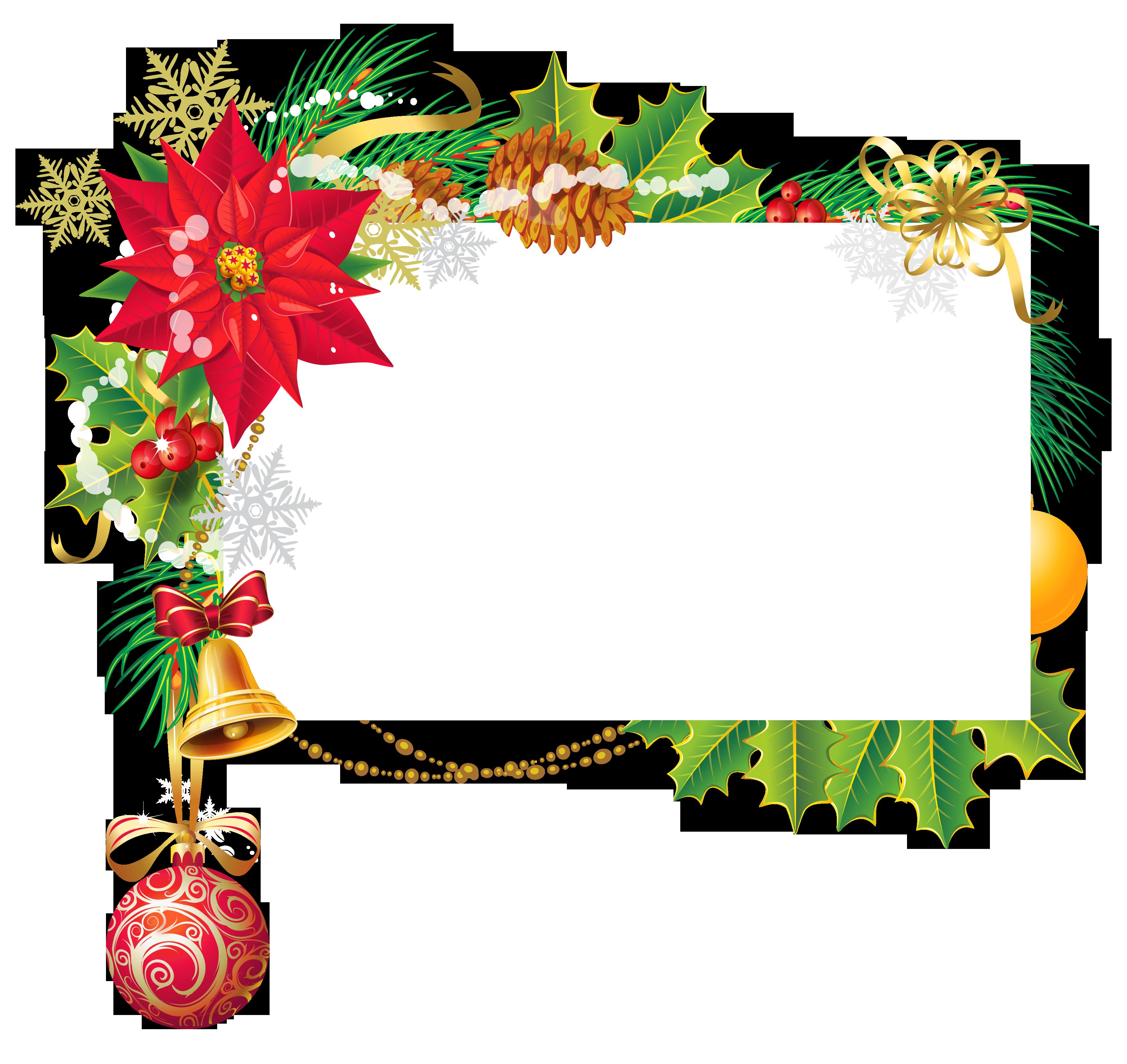 Christmas corner border clipart clip transparent download Images of Christmas Corner Border Png - #SpaceHero clip transparent download