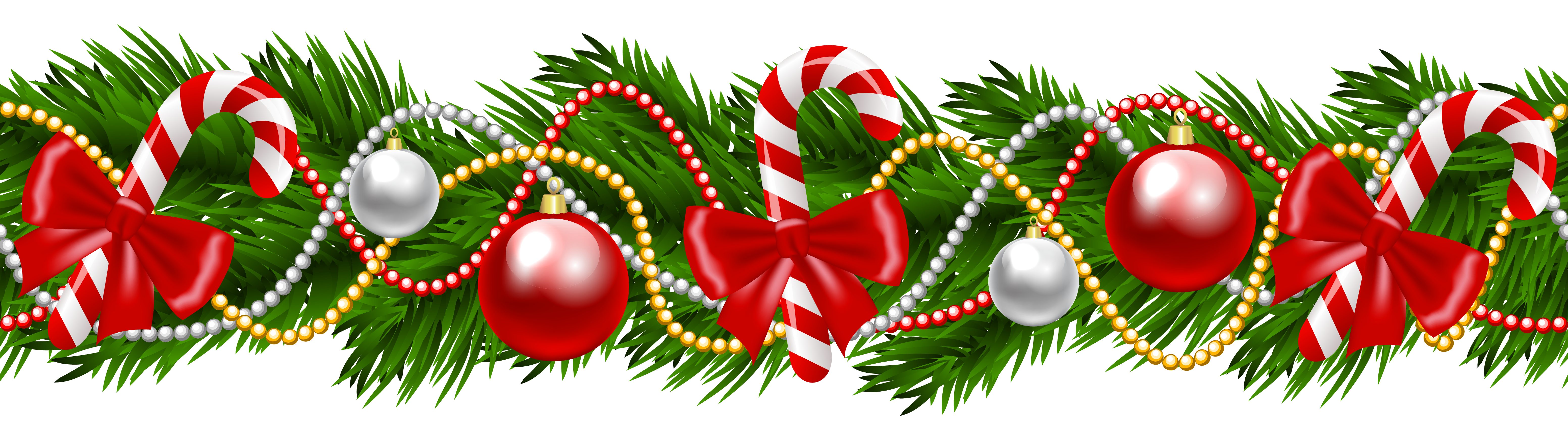 Free clipart christmas garland image transparent library 28+ Collection of Christmas Wreath Border Clipart | High quality ... image transparent library