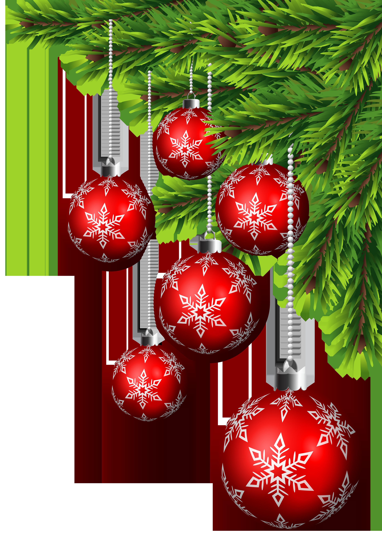 Christmas corner border clipart graphic transparent download Christmas Balls Corner Decor PNG Clip Art | Gallery Yopriceville ... graphic transparent download
