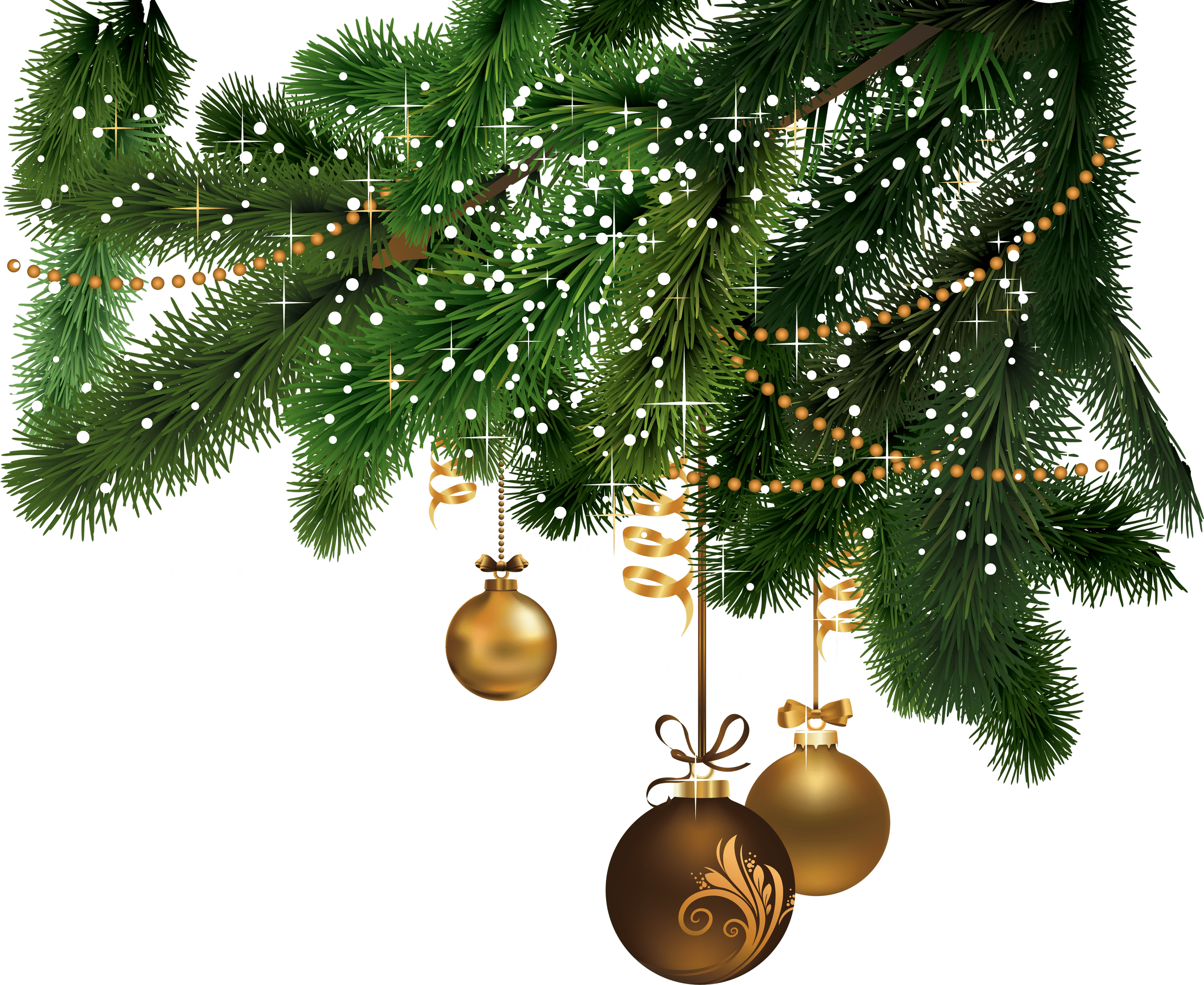 Christmas corner clipart clip library download Christmas Right Corner transparent PNG - StickPNG clip library download