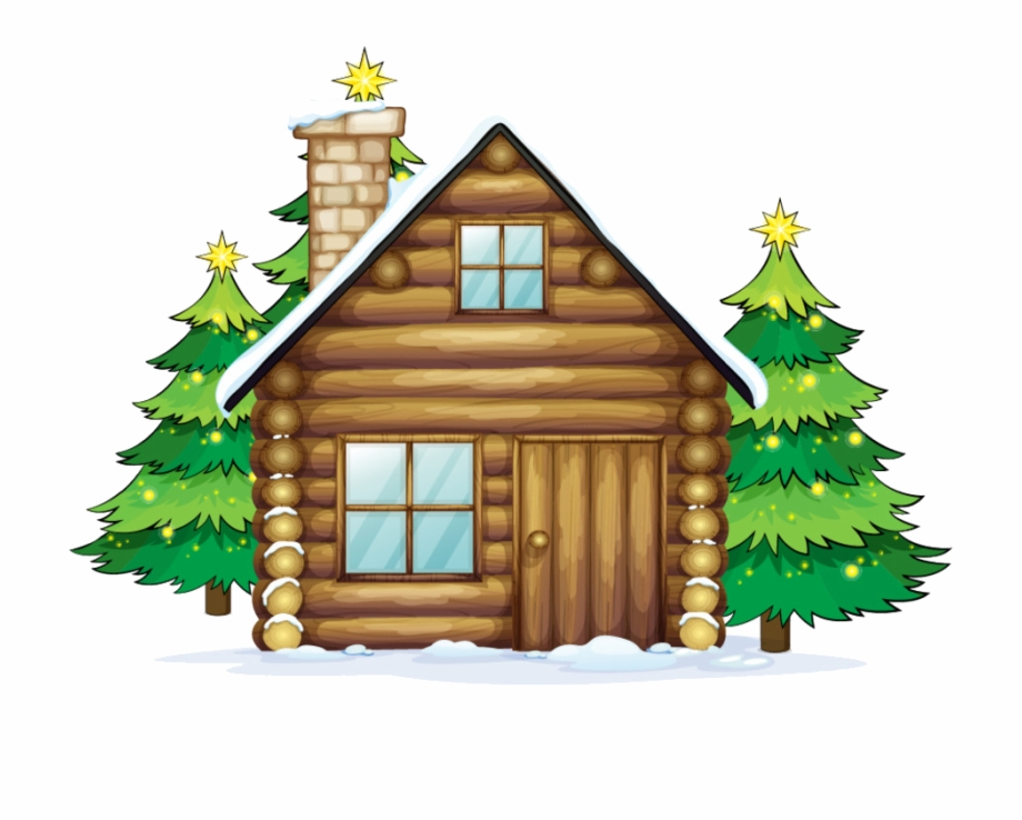 Christmas cottage clipart image freeuse download Winter Scene Clipart At Getdrawings - Christmas House With Chimney ... image freeuse download