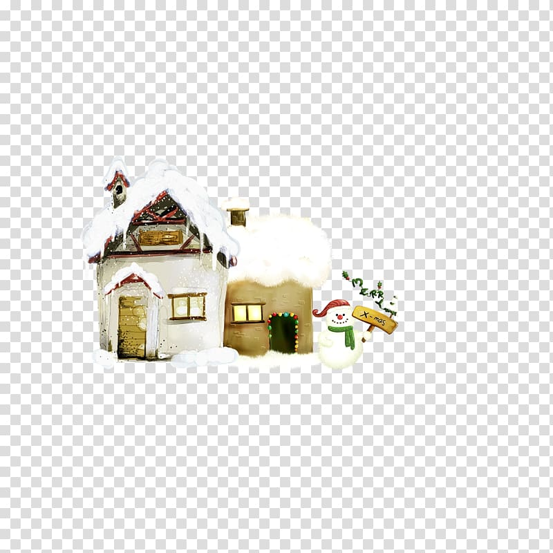 Christmas cottage clipart vector freeuse download Christmas decoration Christmas ornament Christmas tree, Christmas ... vector freeuse download