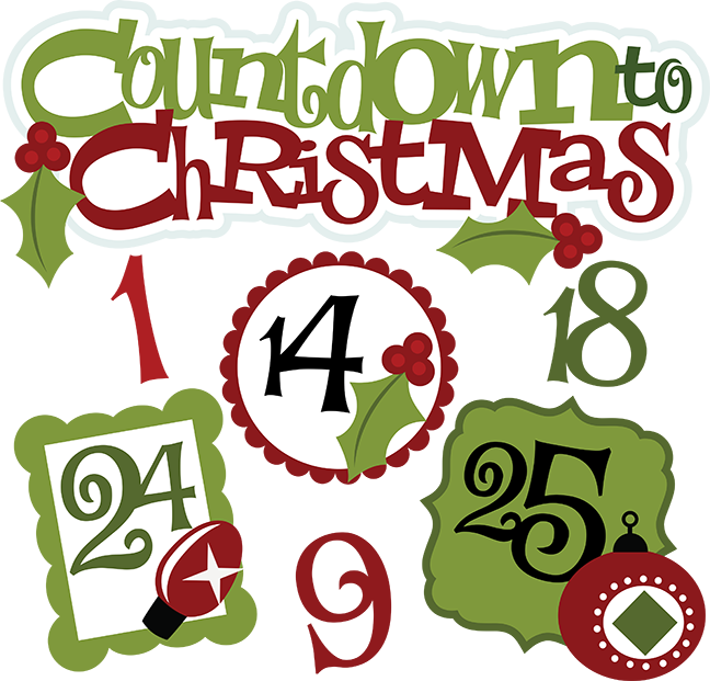 Free christmas countdown clipart png freeuse Free christmas countdown clipart - ClipartFest png freeuse