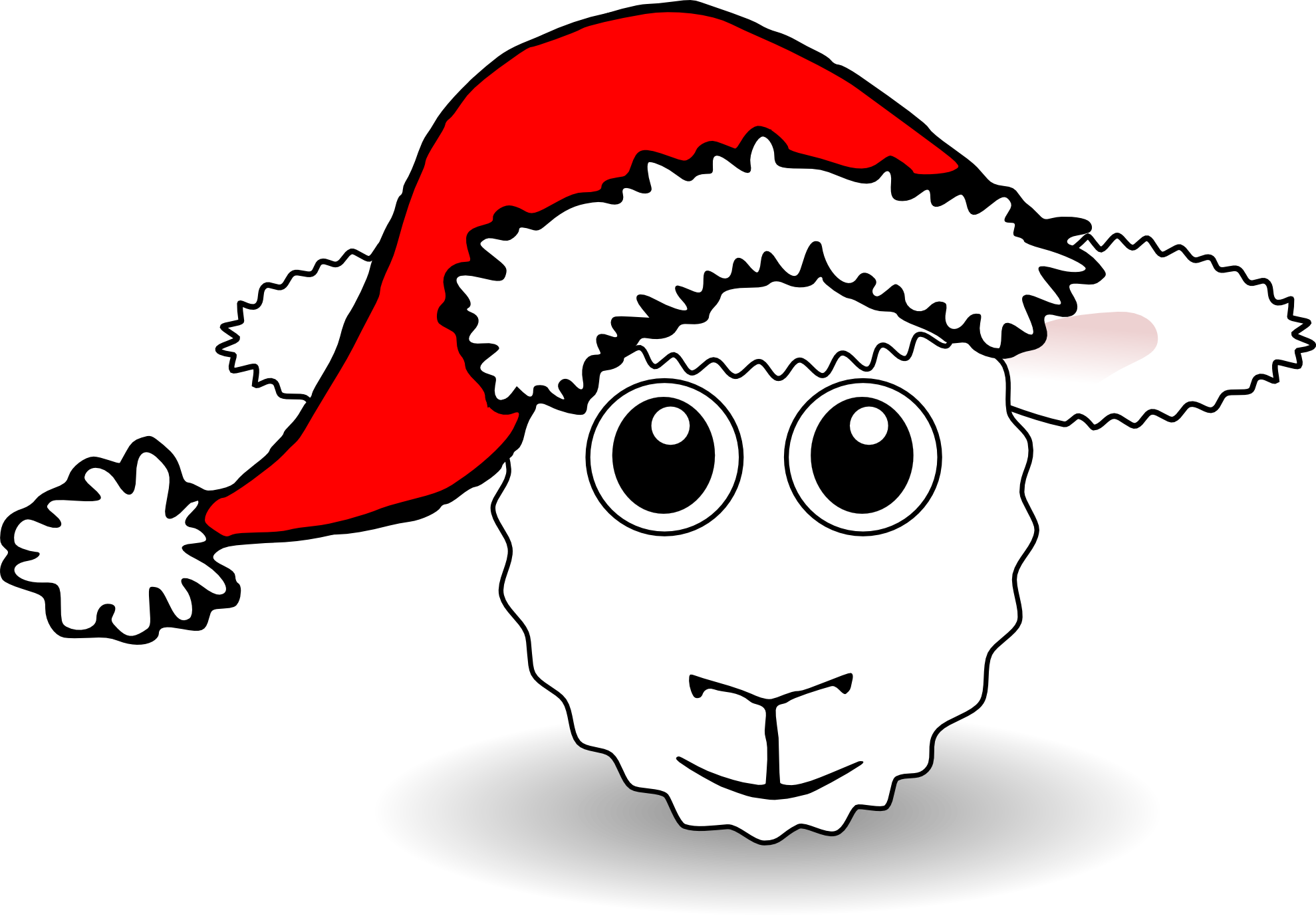 Christmas cow clipart clip free stock Lamb Clipart christmas - Free Clipart on Dumielauxepices.net clip free stock