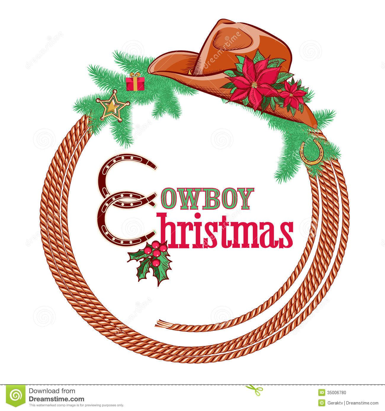 Pin by Reba Gibbons on A Very Merry CHRISTmas . | Cowboy christmas ... graphic royalty free download