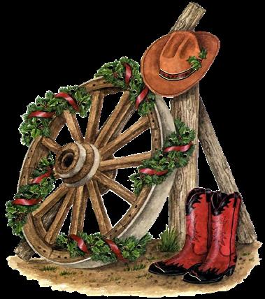 COUNTRY / WESTERN CHRISTMAS CLIP ART | CLIP ART - CHRISTMAS 1 ... clip art freeuse stock