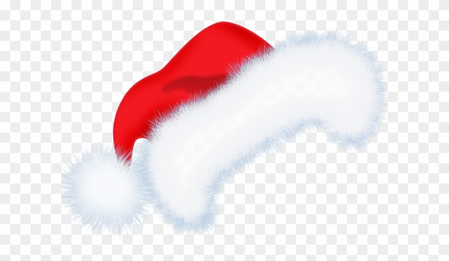 Santa hat clipart transparent background