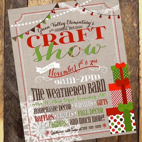 Christmas craft show clipart clip transparent library Santa Store Clip Art flyer - Google Search | christmas | Christmas ... clip transparent library