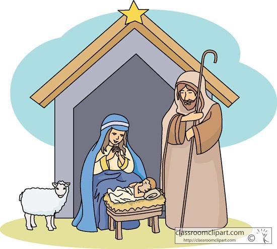 Creche cliparts download clip. Free christmas clipart manger scene