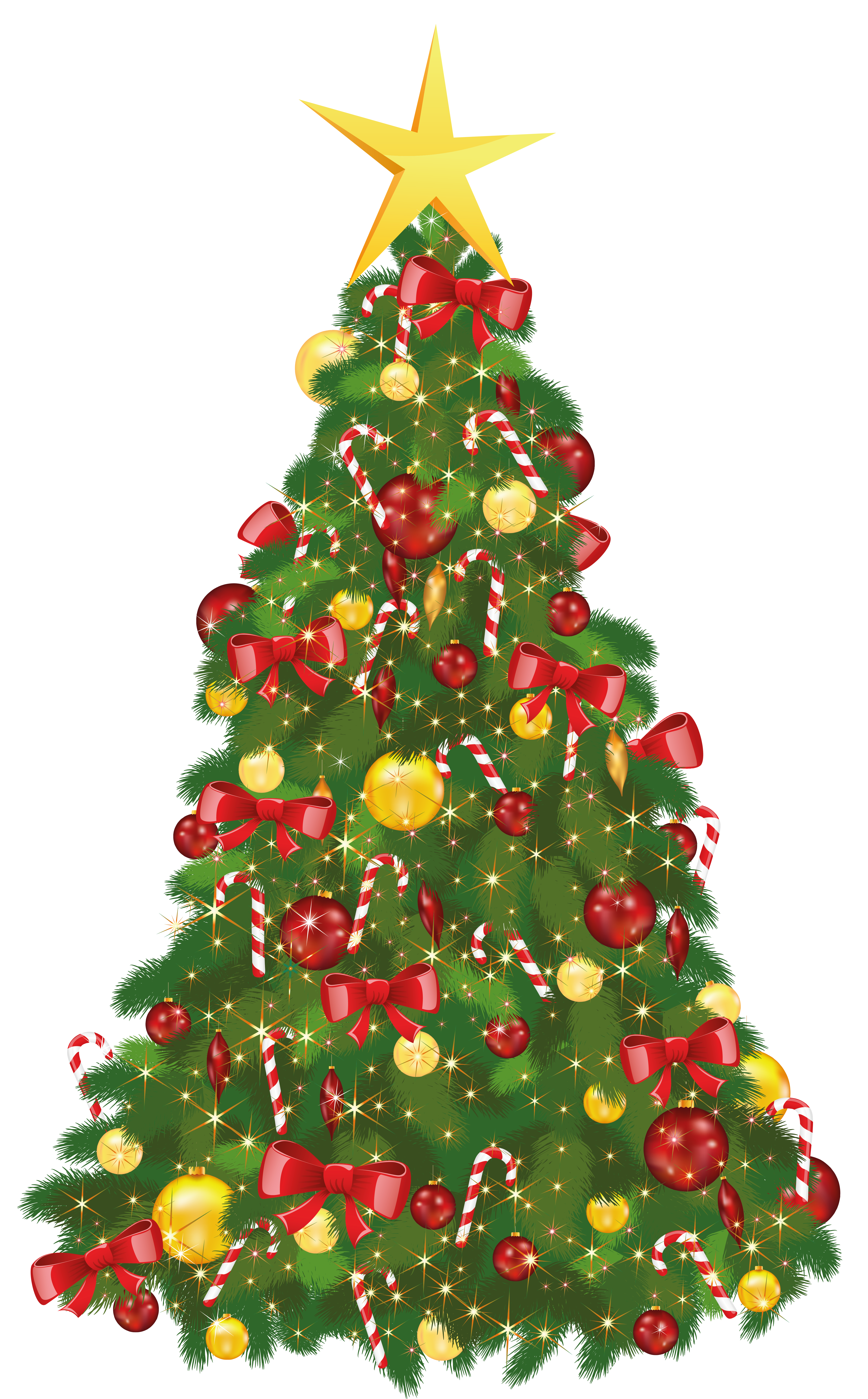 Christmas crown clipart clipart download Transparent Xmas Tree with Star   Gallery Yopriceville - High ... clipart download