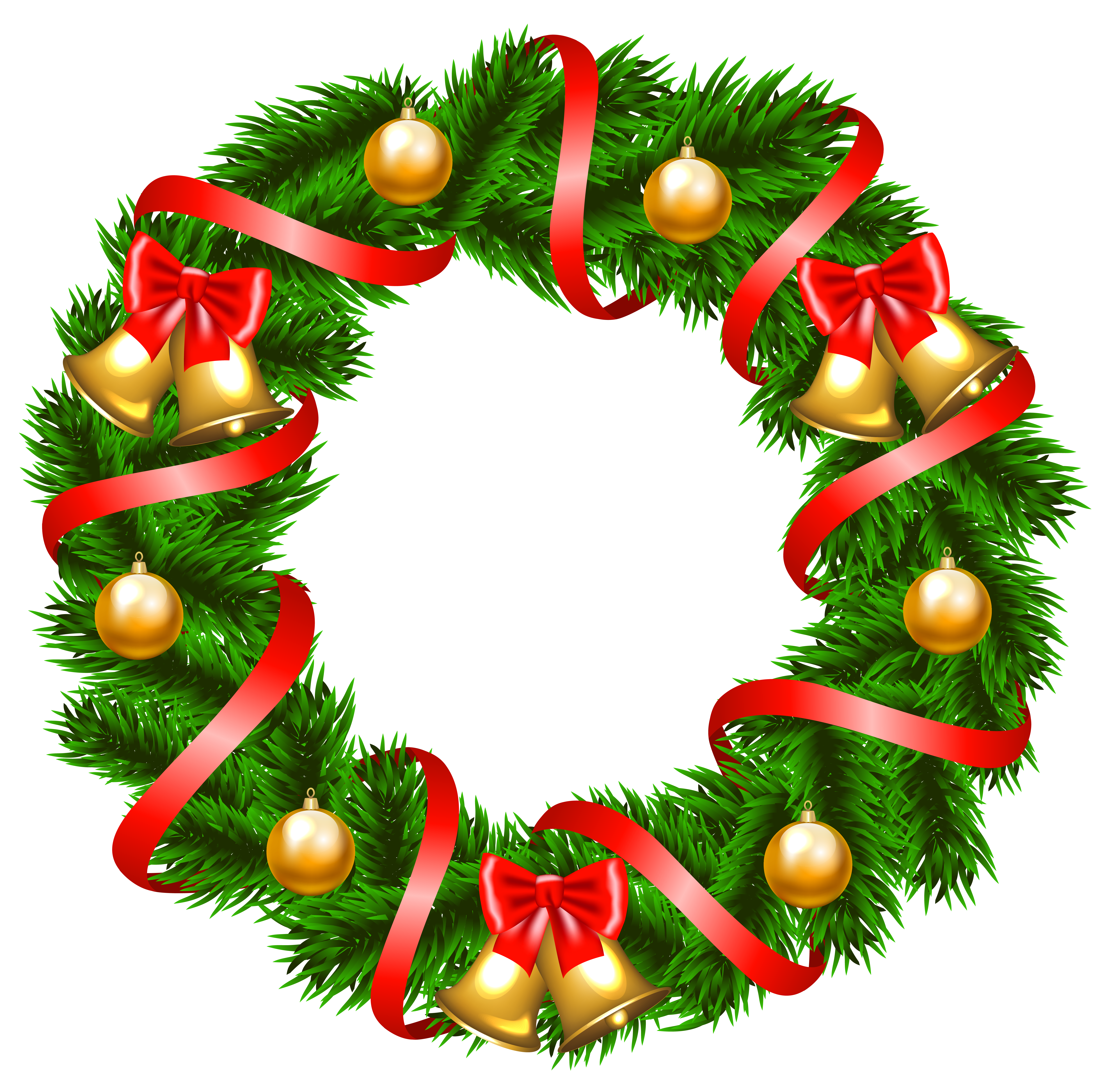 Christmas wreaths clipart vector free stock 28+ Collection of Free Clipart Of Christmas Wreath | High quality ... vector free stock