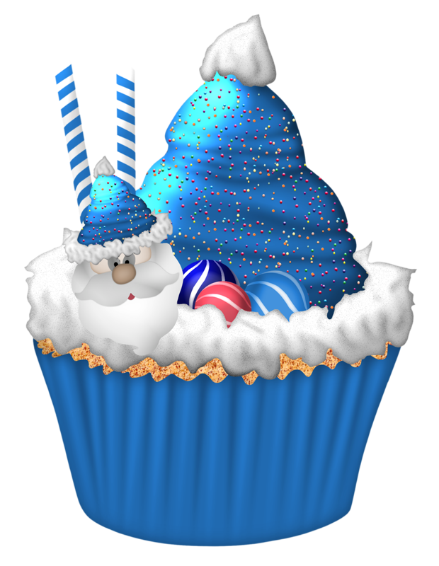 Christmas cupcake clipart jpg black and white download Cupcakes | Cupcake- Clip Art | Pinterest | Clip art, Cake and ... jpg black and white download