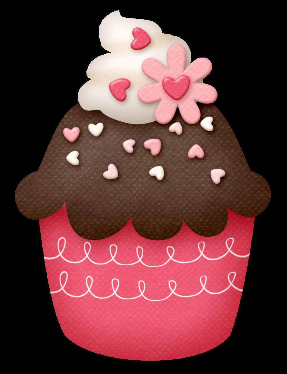 Cupcake with heart clipart clip art royalty free https://img-fotki.yandex.ru/get/9516/199839678.10 ... clip art royalty free