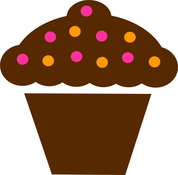 Cupcake with crown clipart vector royalty free download Cupcakes Clipart Border | Clipart Panda - Free Clipart Images vector royalty free download