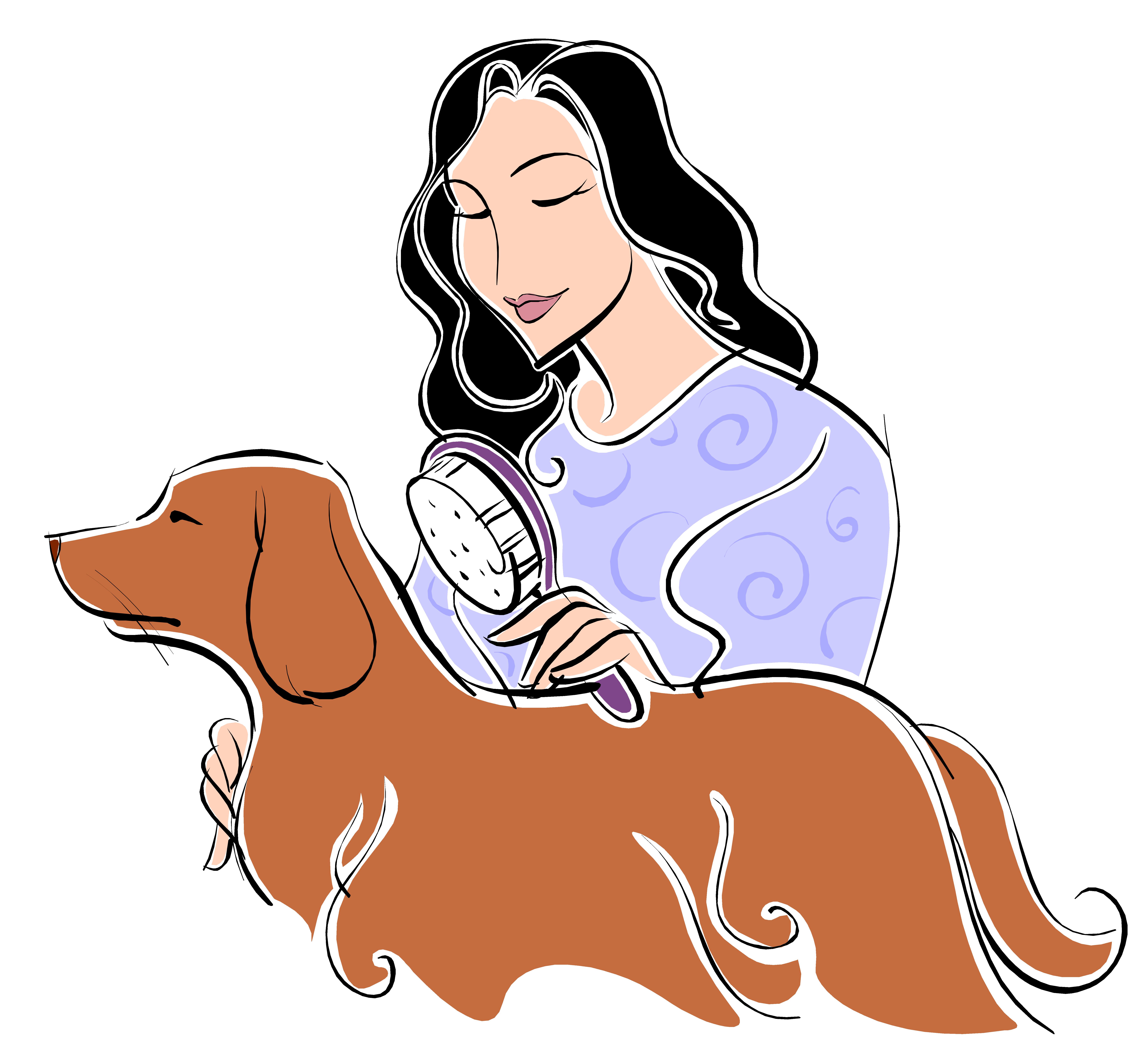Dog bath clipart free clip black and white stock Puppy Dog Pet Clip art - Pet a bath 7209*6696 transprent Png Free ... clip black and white stock