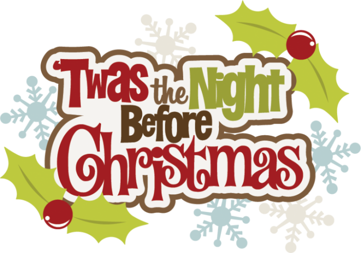 Christmas day clipart image royalty free stock Twas the Friday before Christmas | NHRA image royalty free stock