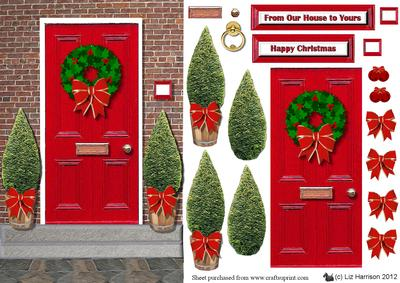 Christmas front door clipart png library download Free Christmas Door Cliparts, Download Free Clip Art, Free Clip Art ... png library download