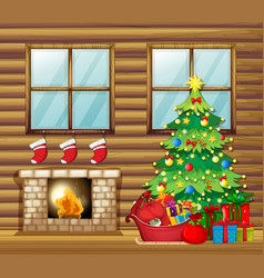 Christmas decorated house clipart graphic freeuse stock Christmas House Clipart Vector Images (over 150) graphic freeuse stock