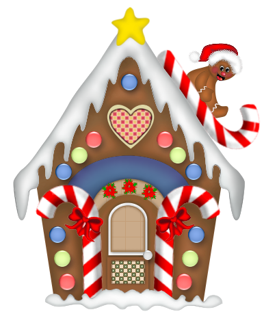 Christmas decorated house clipart png free download free clipart gingerbread house - Google Search Пряничный домик ... png free download
