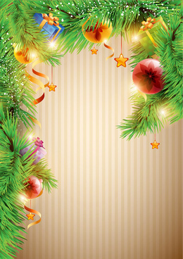 Christmas decorations background clipart banner freeuse Christmas decorations clip art free vector download (223,033 Free ... banner freeuse