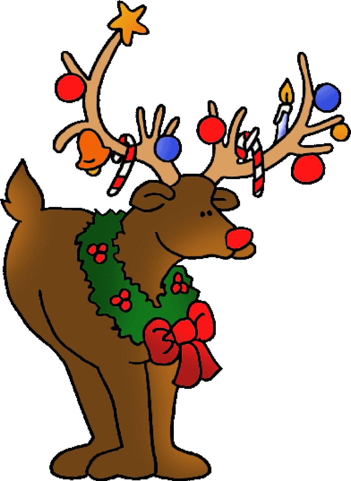 Christmas deer clipart banner stock merry-christmas-deer-clipart-high-definition-for-hd-wallpapers ... banner stock