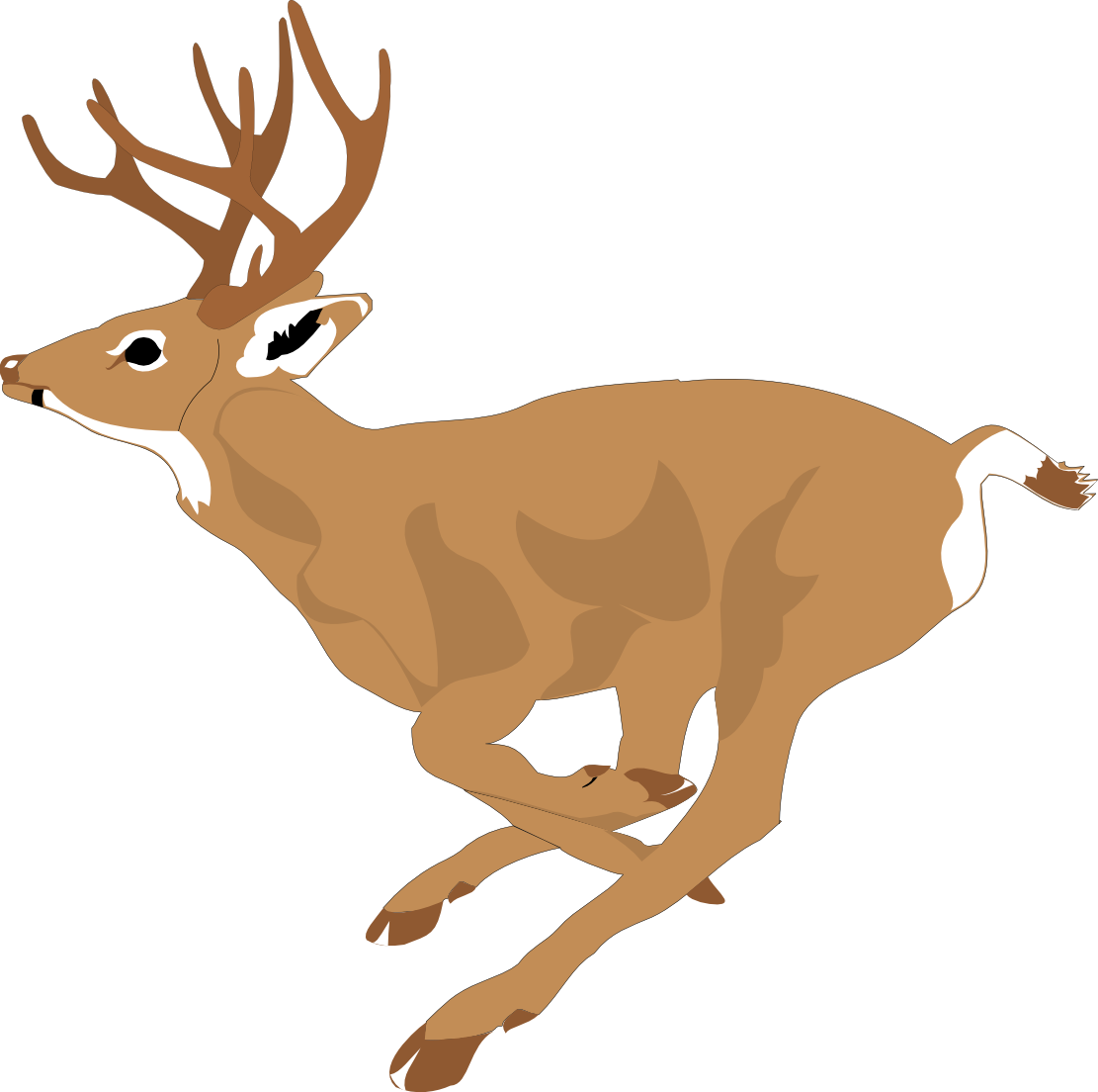 Christmas deer clipart banner transparent stock Deer Clipart Free at GetDrawings.com | Free for personal use Deer ... banner transparent stock